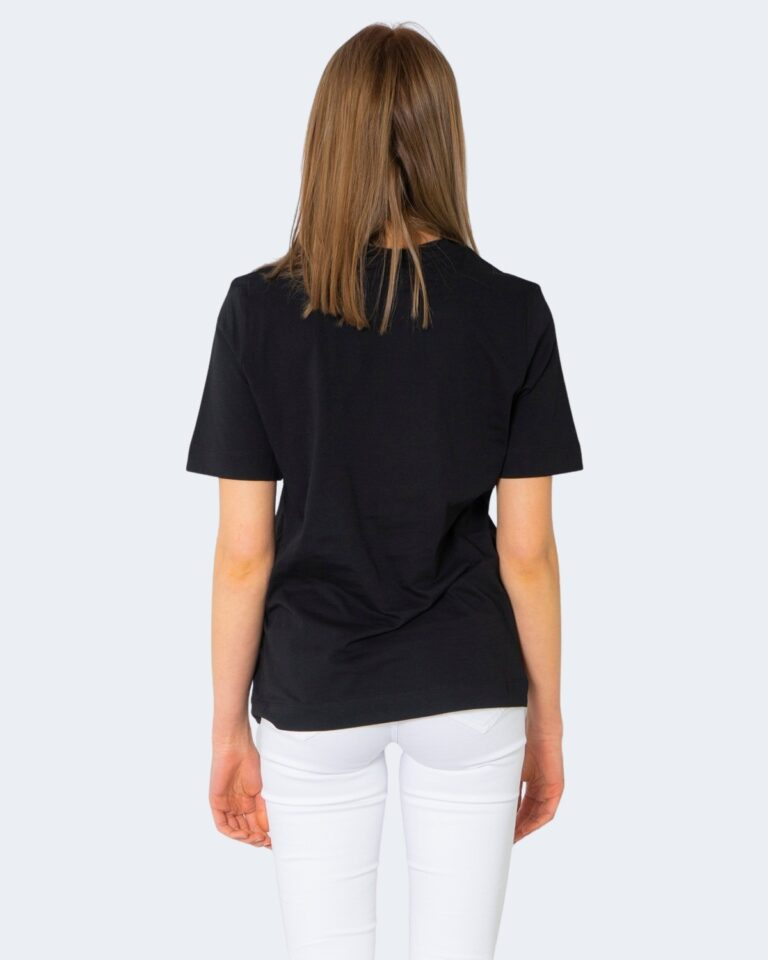T-shirt Love Moschino CUORE GRANDE Nero - Foto 2
