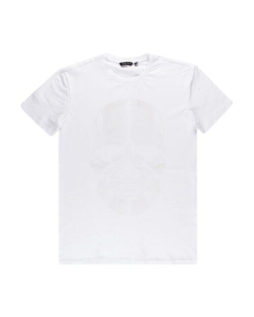 T-shirt Antony Morato SUPER SLIM FIT Bianco - Foto 4