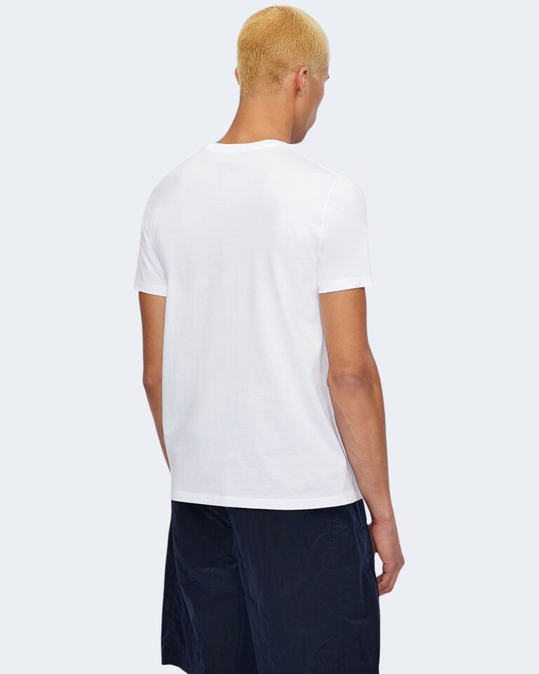 T-shirt Armani Exchange LOGO CRUCIVERBA Bianco - Foto 2