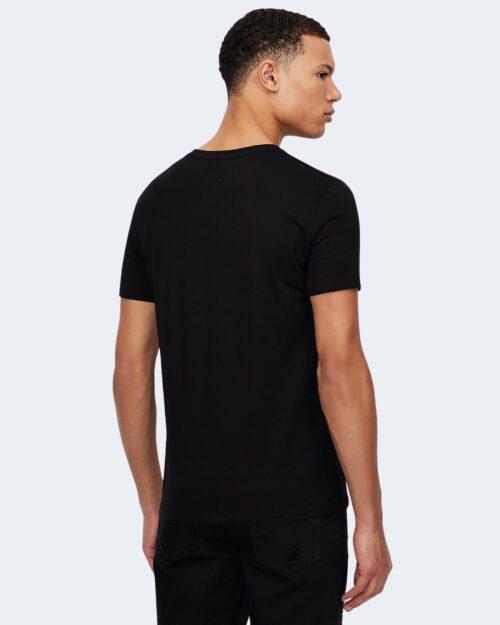 T-shirt Armani Exchange LOGO CRUCIVERBA Nero – 71528