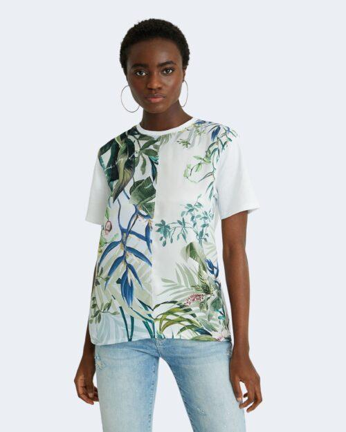 T-shirt Desigual BUDAPEST Bianco – 65526