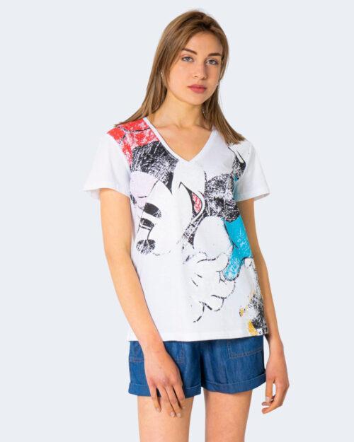 T-shirt Desigual MINNIE Bianco - Foto 1
