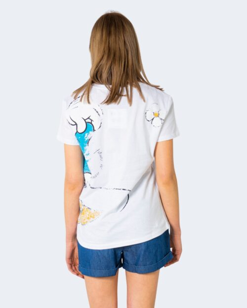 T-shirt Desigual MINNIE Bianco - Foto 2