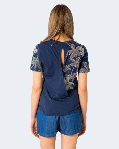 T-shirt Desigual CROSSED BACK Blu – 65517