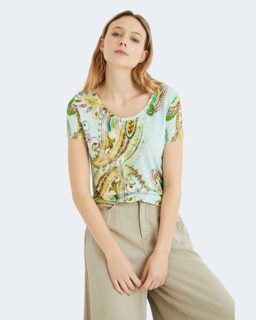 T-shirt Desigual MANDRAGORA Celeste – 65541