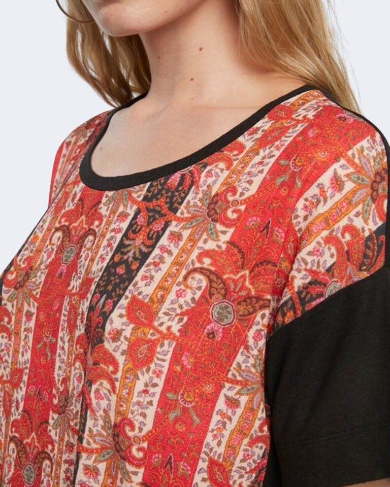 T-shirt Desigual LOMBOK Nero - Foto 2