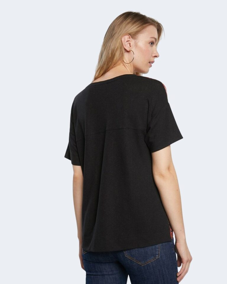 T-shirt Desigual LOMBOK Nero - Foto 3