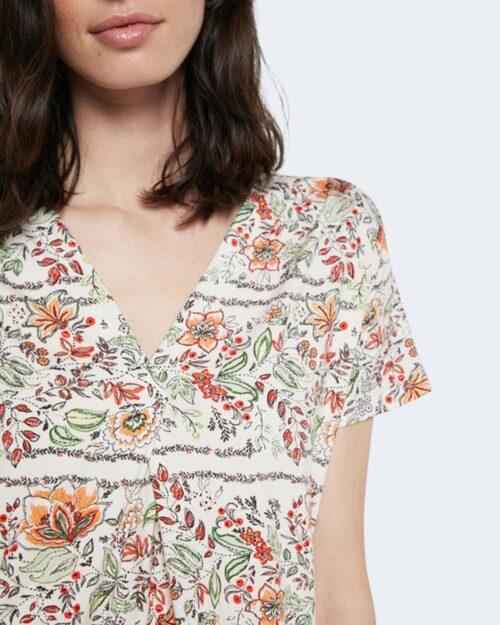 T-shirt Desigual CRACOVIA Panna - Foto 2