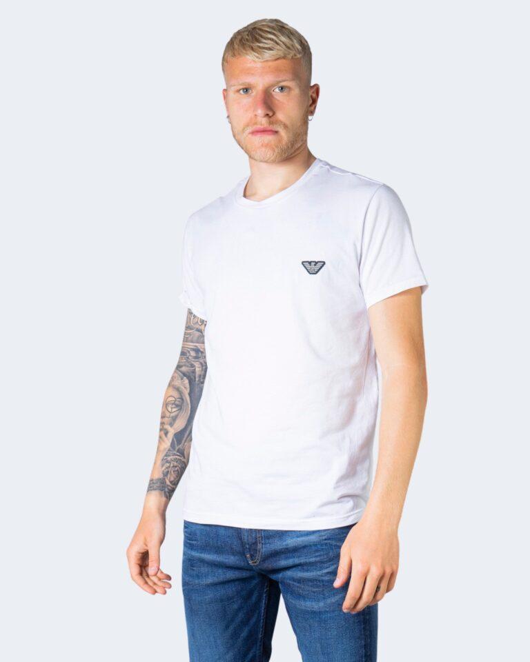 T-shirt Emporio Armani Underwear Crew Neck Bianco - Foto 1