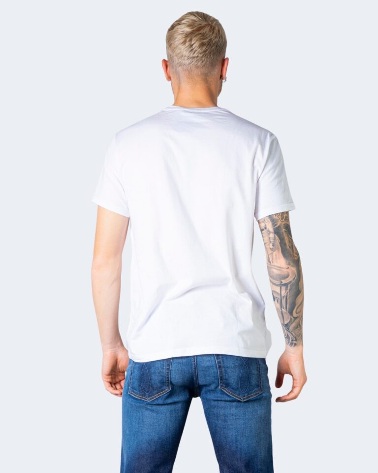 T-shirt Emporio Armani Underwear Crew Neck Bianco - Foto 2