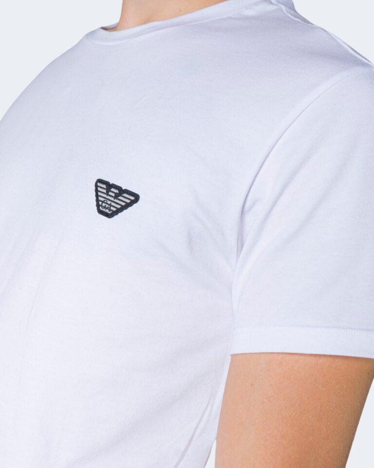 T-shirt Emporio Armani Underwear Crew Neck Bianco - Foto 3