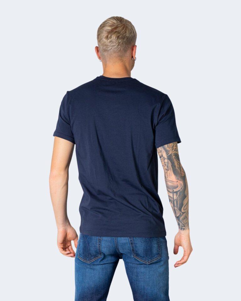 T-shirt Emporio Armani Underwear INTIMA Crew Neck Blu - Foto 2