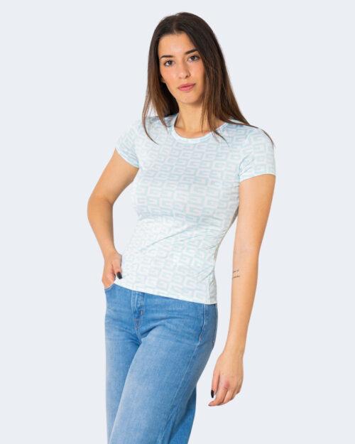 T-shirt Guess CHECKER Celeste – 71506