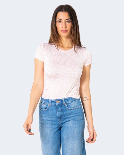 T-shirt Guess CHECKER Rosa – 71506