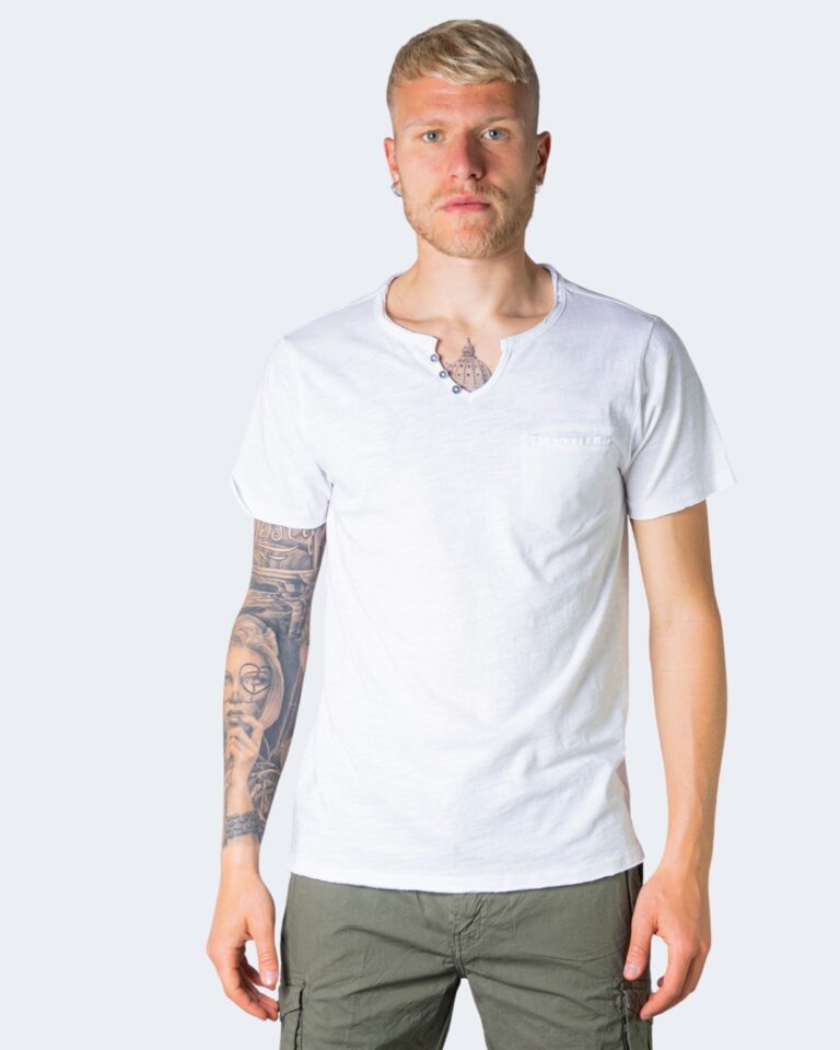 T-shirt Idra SCOLLO V Bianco - Foto 1