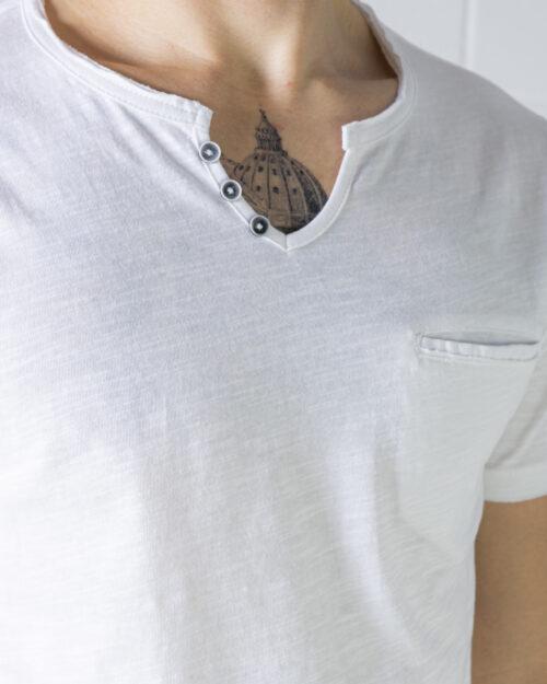 T-shirt Idra SCOLLO V Bianco - Foto 3