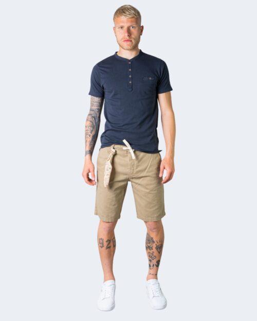 T-shirt Idra SERAFINO CON TASCHINO Blu – 71183
