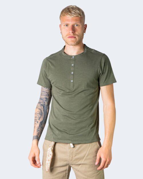 T-shirt Idra SERAFINO Verde Oliva - Foto 1