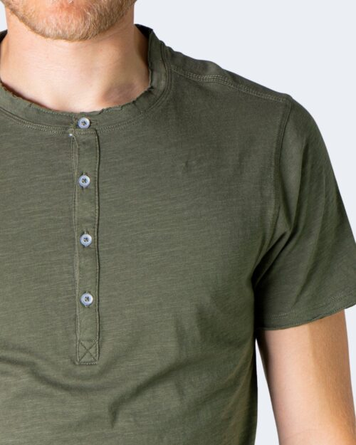 T-shirt Idra SERAFINO Verde Oliva – 71181
