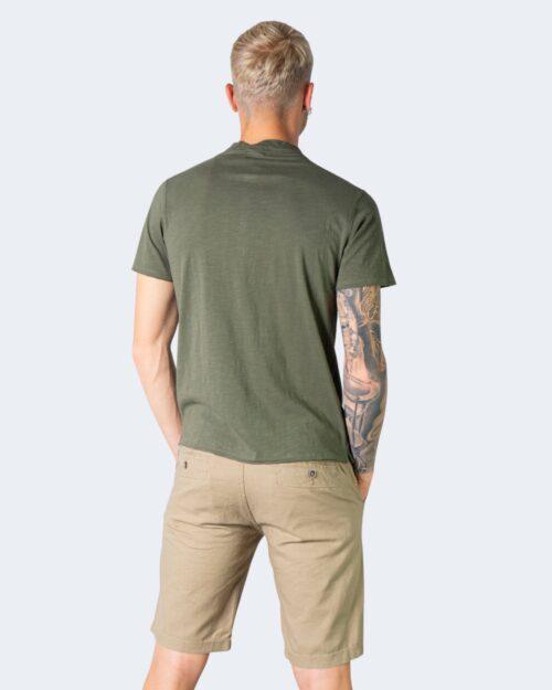 T-shirt Idra SERAFINO Verde Oliva - Foto 3