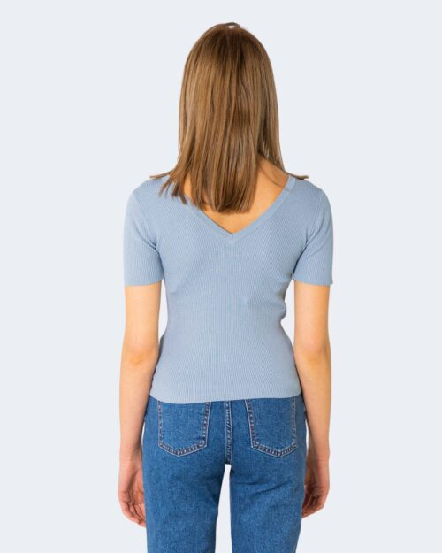 T-shirt Jacqueline de Yong NANNA Celeste - Foto 2