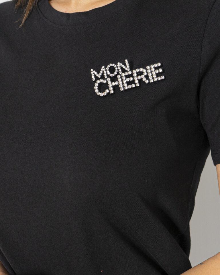 T-shirt Jacqueline de Yong DING Nero - Foto 4