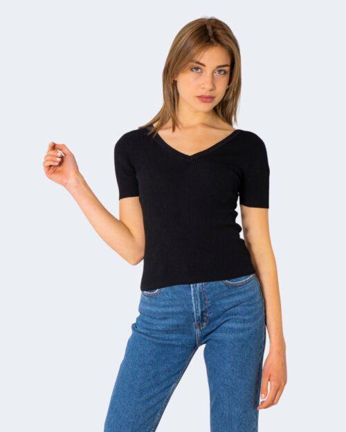 T-shirt Jacqueline de Yong NANNA Nero - Foto 1