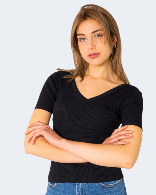 T-shirt Jacqueline de Yong NANNA Nero - Foto 3