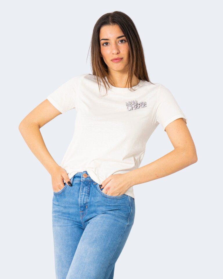 T-shirt Jacqueline de Yong DING Panna - Foto 1