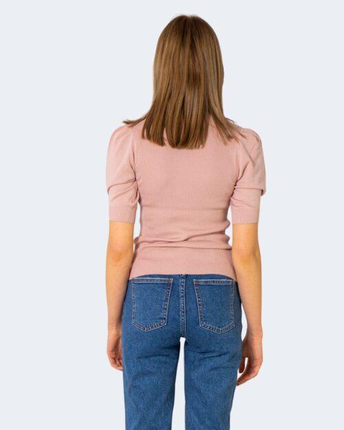 T-shirt Jacqueline de Yong KADY Rosa - Foto 2