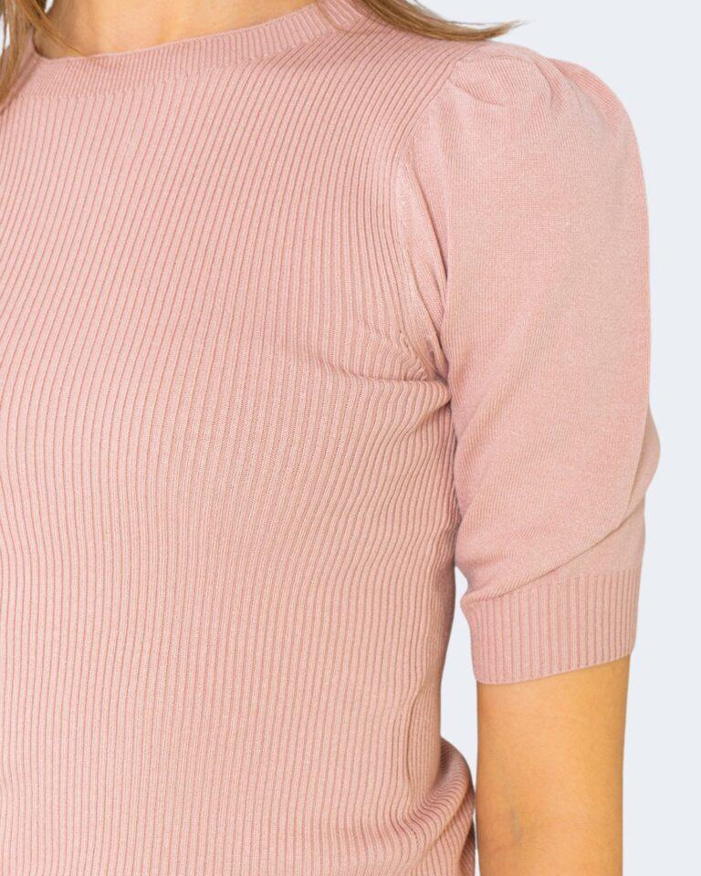 T-shirt Jacqueline de Yong KADY Rosa - Foto 3