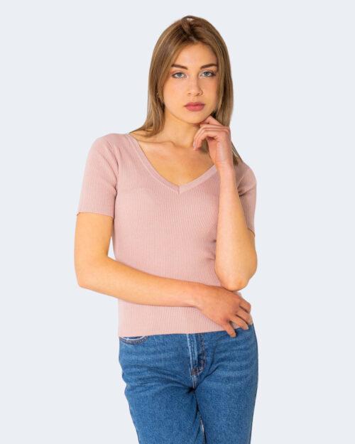 T-shirt Jacqueline de Yong NANNA Rosa - Foto 1