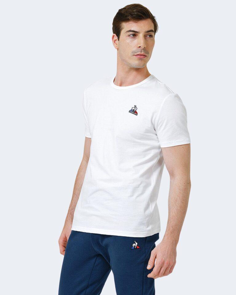 T-shirt LE COQ SPORTIF SHORT SLEEVES TEE Bianco - Foto 1