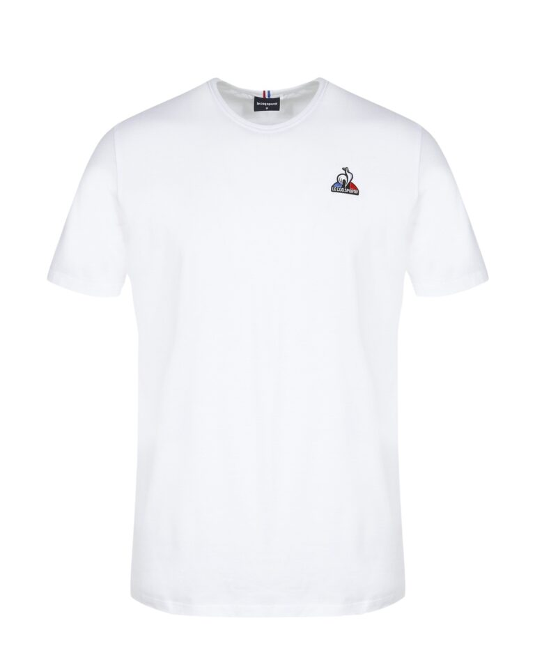 T-shirt LE COQ SPORTIF SHORT SLEEVES TEE Bianco - Foto 2