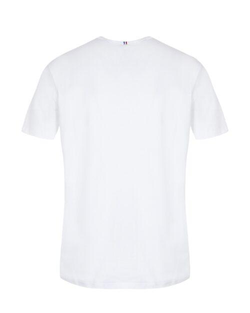 T-shirt LE COQ SPORTIF SHORT SLEEVES TEE Bianco - Foto 3