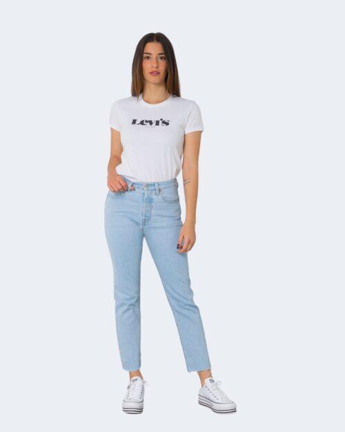T-shirt Levi's® THE PERFECT NEW LOGO Bianco – 71435