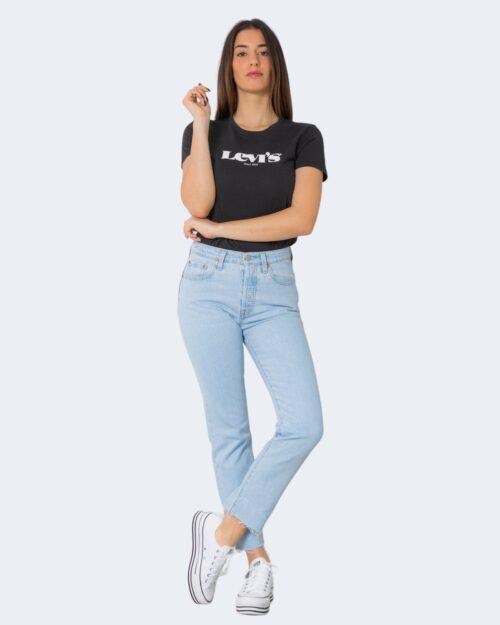 T-shirt Levi's® THE PERFECT NEW LOGO II Nero – 71436