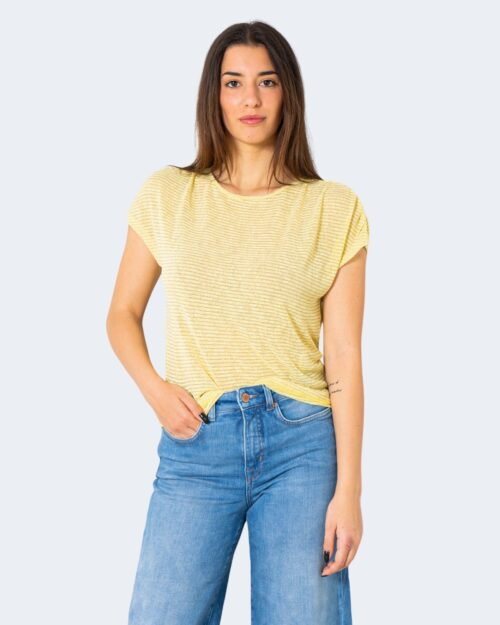 T-shirt Only RIZ Giallo - Foto 2