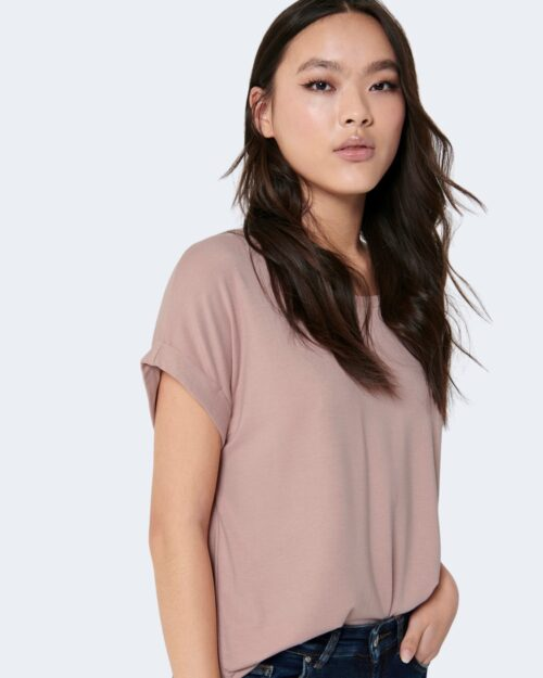 T-shirt Only Moster Rosa Cipria – 7090