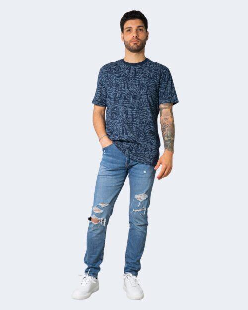 T-shirt Only & Sons ADRIEL Blu – 63396