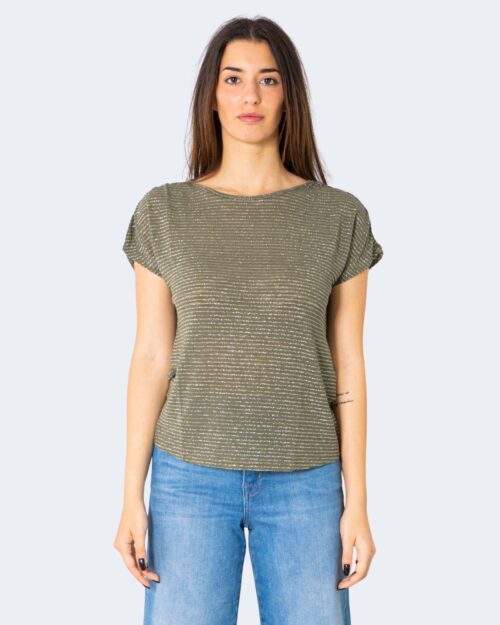 T-shirt Only RIZ Verde Oliva - Foto 1