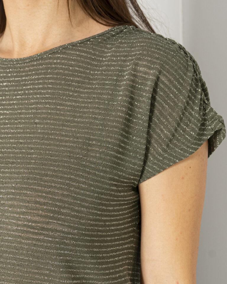 T-shirt Only RIZ Verde Oliva - Foto 2