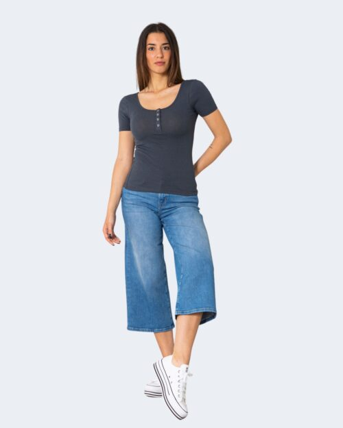 T-shirt Pieces Kitte SS Top Noos BC Blu – 71472