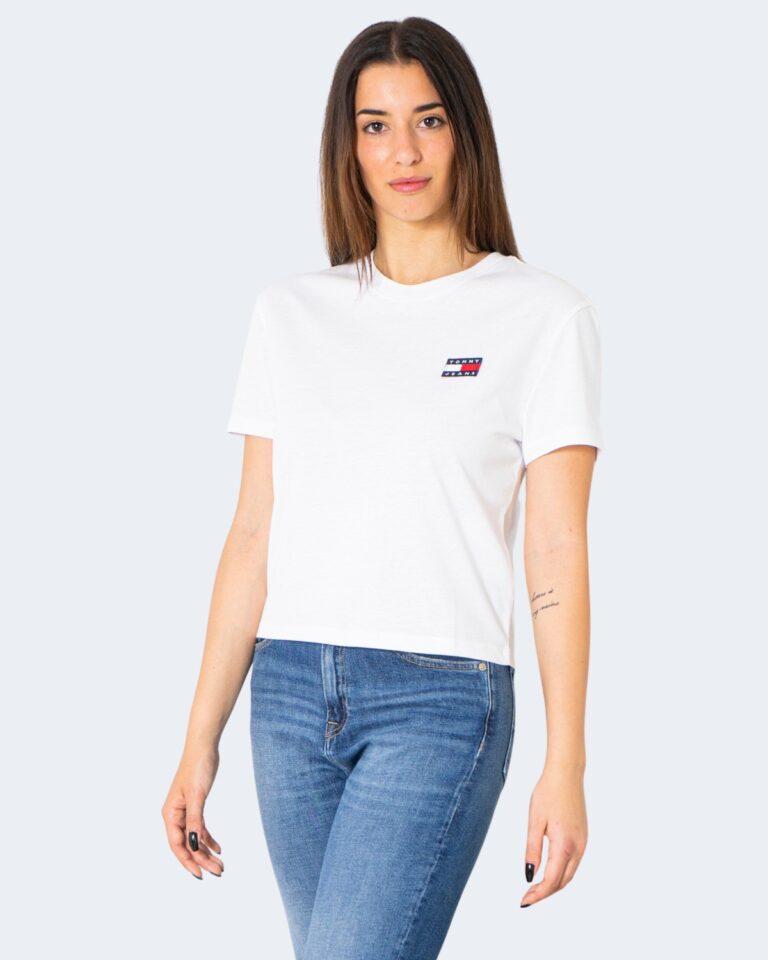 T-shirt Tommy Hilfiger Jeans - Bianco - Foto 1