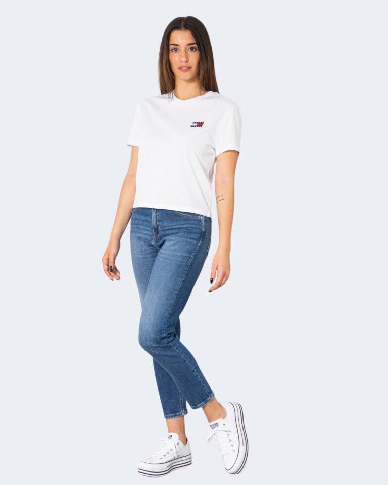 T-shirt Tommy Hilfiger Jeans - Bianco - Foto 2