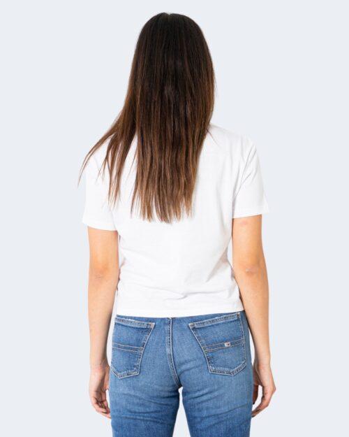 T-shirt Tommy Hilfiger Jeans - Bianco - Foto 3