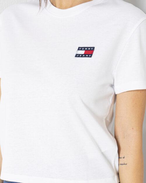 T-shirt Tommy Hilfiger Jeans - Bianco - Foto 4