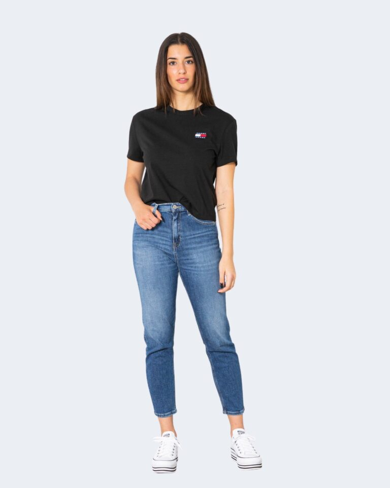 T-shirt Tommy Hilfiger Jeans - Nero - Foto 2