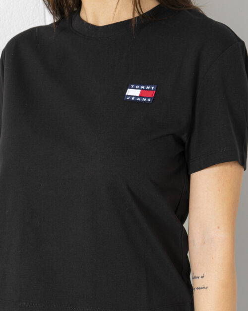 T-shirt Tommy Hilfiger Jeans - Nero - Foto 4