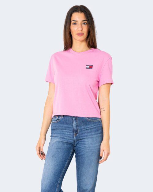 T-shirt Tommy Hilfiger Jeans - Rosa - Foto 1